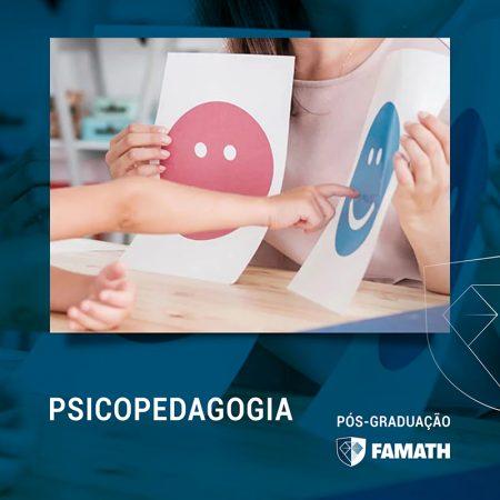 ESPECIALIZAÇÃO EM PSICOPEDAGOGIA: CLÍNICA E INSTITUCIONAL