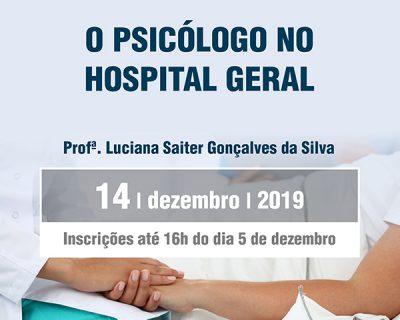 O Psicólogo no Hospital Geral