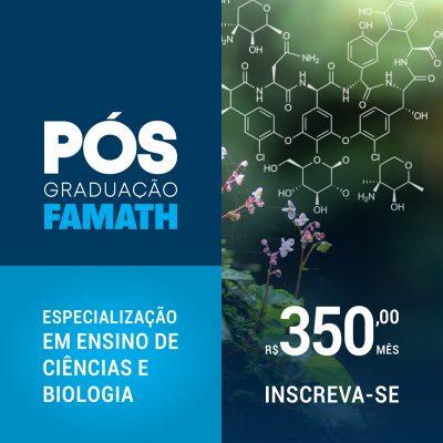 Especialização em Ensino de Ciências e Biologia