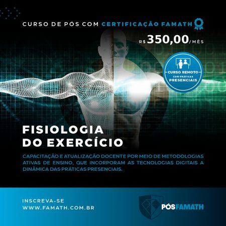 Lato-Sensu em fisiologia do exercício