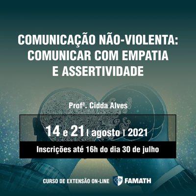 COMUNICAÇÃO NÃO-VIOLENTA: COMUNICAR COM EMPATIA E ASSERTIVIDADE