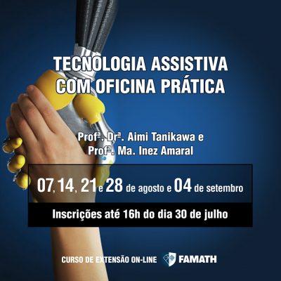TECNOLOGIA ASSISTIVA COM OFICINA PRÁTICA